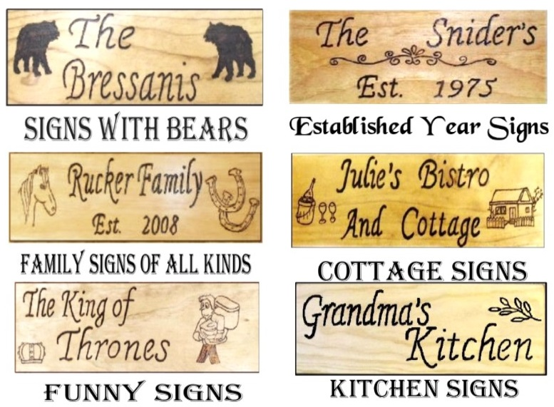To See More Personalized Wood Signs And To Place An Order For Your Personalized Sign For 23 99 Click On The Link At Top Of Page